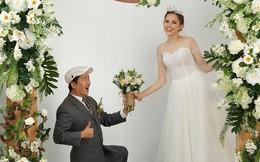 Ảnh cưới hài hước của Trường Giang và mẫu Tây