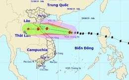 Bão số 4 tăng tốc, dự kiến sáng hoặc trưa mai đổ bộ vào Nghệ An - Quảng Bình, sức gió giật cấp 10, 11