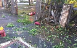 Tông xe máy vào cổng quán cà phê trong cơn mưa tầm tã, nam thanh niên chết thảm