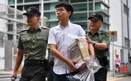 Cựu thủ lĩnh sinh viên Hồng Kông Hoàng Chi Phong bị bắt vào sáng nay
