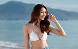 Vẻ gợi cảm của siêu mẫu Thanh Hằng ở tuổi 36