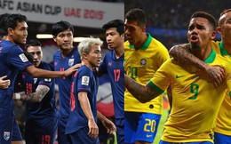 Cổ động viên Thái Lan 'khóc ròng' vì trận gặp ĐT Brazil bị huỷ
