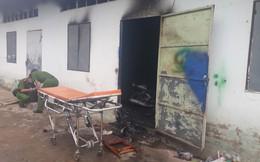 Nam thanh niên chết cháy trong phòng trọ nghi do tự thiêu