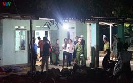 Phong tỏa hiện trường vụ án mạng kinh hoàng ở Uông Bí