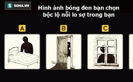 Hình ảnh bóng đen bạn chọn bộc lộ nỗi lo sợ lớn nhất trong bạn: Đáp án C thú vị nhất