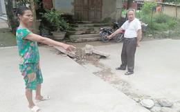 Dân Thanh Hóa hoang mang sau vụ nổ nứt nhà, đứt đường