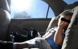 Trung bình 37 trẻ em tử vong do sốc nhiệt trên ô tô mỗi năm: 10 phút đã đủ để mất mạng, hơn 53% trường hợp do cha mẹ bỏ quên