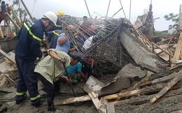 Sập giàn giáo ở Hải Phòng, ít nhất 7 người bị thương