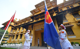 Long trọng tổ chức Lễ Thượng cờ kỷ niệm 52 năm ngày thành lập ASEAN tại Hà Nội