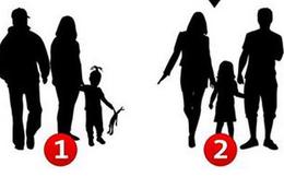 Hãy vận dụng óc quan sát tinh tường để xem số mấy không phải gia đình, đáp án rất thú vị!