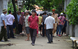 Hiện trường vụ anh truy sát gia đình em ruột khiến 5 người thương vong ở Hà Nội