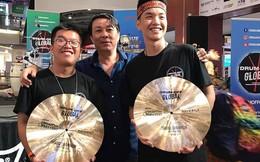 Vượt hàng trăm đối thủ, 2 nghệ sĩ trẻ Việt giành giải Nhất thi trống quốc tế