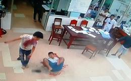 Clip: 2 băng nhóm hỗn chiến gây náo loạn tại Bệnh viện Tiền Giang