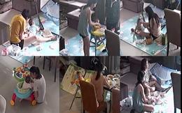 Nhìn thấy vợ chăm con nhỏ qua CCTV, người đàn ông mới hiểu được nỗi vất vả của bà xã và có vài dòng chia sẻ gây bão MXH