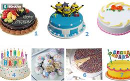 Chiếc bánh sinh nhật bạn thích sẽ hé lộ điều ước thầm kín bạn mong bấy lâu, đó là gì?