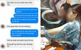 Chuyện lạ đời: Nhắn tin năn nỉ bồ nhí của chồng buông tha, vợ bị mẹ cô này mắng chửi