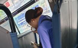 Khách trốn 7 nghìn tiền vé, nữ phụ xe bị đình chỉ ôm mặt khóc giữa chuyến buýt Sài Gòn