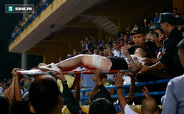 Nóng: Đã bắt được đối tượng đốt pháo sáng ở sân Hàng Đẫy khiến nữ cổ động viên bị thương