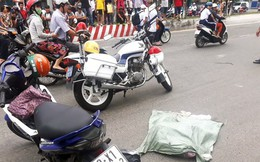 Lời khai của người phụ nữ đi xe máy đánh rơi bao tải chứa nhiều xác thai nhi xuống đường