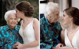 Câu chuyện cô dâu trẻ tạo bất ngờ cho người bà sắp qua đời khiến ai nghe xong cũng rơi nước mắt