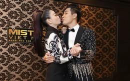 MC Nguyên Khang thoải mái ôm hôn Thu Minh khi hội ngộ