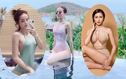 Vẻ nóng bỏng của nữ ca sĩ 25 tuổi bị đồn hẹn hò với Ngô Kiến Huy