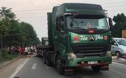 Container dùng thực nghiệm hiện trường vụ Innova lùi trên cao tốc vừa tông 3 người thương vong
