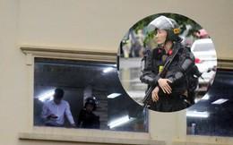 [ẢNH] Hàng chục xe chuyên dụng, hơn 100 cảnh sát bao vây trụ sở Công ty Địa ốc Alibaba