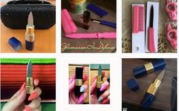 Đừng đùa với phụ nữ, trên Instagram đang bán dao ngụy trang thành son môi hay lược nhựa kia kìa