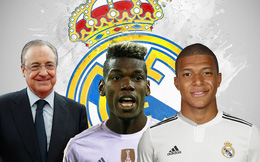 Perez ra oai, Real vung tiền mua Pogba và Mbappe