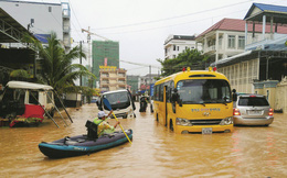 """Trung Quốc đổ tiền ồ ạt """"nhấn chìm"""" thành phố của Campuchia?"""