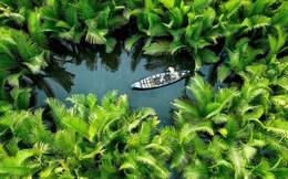 24h qua ảnh: Ngư dân chèo thuyền trên sông Trà Khúc ở Việt Nam