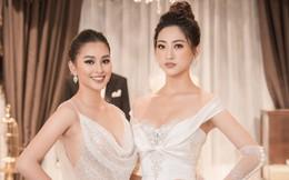 Hoa hậu Lương Thùy Linh mặc váy cưới gợi cảm, có giá 1 triệu USD