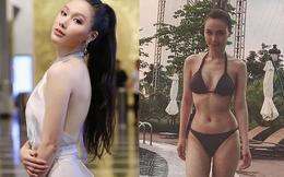 Cận cảnh vòng eo 55cm đầy gợi cảm của MC VTV Minh Hà