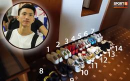 """Văn Hậu đem theo cả """"gia tài giày"""" sang Hà Lan, có đôi gần 100 triệu đồng"""