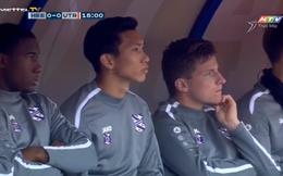 TRỰC TIẾP Heerenveen 0-1 Utrecht: Đoàn Văn Hậu phải chứng kiến hàng thủ tồi tệ của đội nhà