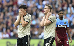 Cả sao mới lẫn lá chắn thép đổ sụp, Man United nối dài chuỗi trận tủi hổ trên sân khách