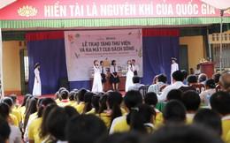 'GÓP 1 CUỐN SÁCH' mang lại niềm vui cho thầy và trò Châu Minh
