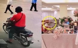 Thanh niên 'mặt dày' trong đám cưới và bàn tay hư lướt qua thùng tiền khiến gia chủ sốt sắng đi tìm
