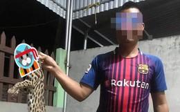 Xôn xao thông tin người đàn ông giết mèo rừng quý hiếm rồi đăng Facebook khoe