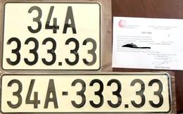 Bốc biển số cho Hyundai Accent, chủ xe may mắn được ngũ quý 3 siêu đẹp