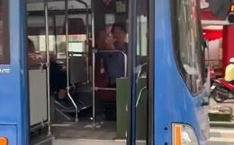 Đình chỉ tài xế xe buýt bấm còi, ép xe, phun nước miếng ở trung tâm Sài Gòn
