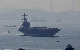 Đơn thương độc mã vào biển Đông, tàu sân bay Mỹ Ronald Reagan bị 7 chiến hạm Trung Quốc vây?