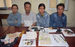 2 cặp tình nhân đi xe máy từ Nam ra Bắc đột nhập hàng chục đền chùa trộm tiền công đức