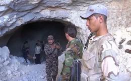 Cận cảnh căn cứ ngầm nơi chế tạo máy bay không người lái của khủng bố ở Syria