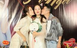 Dàn sao miền Bắc tới chúc mừng ca sĩ Huyền Trang ra MV mới