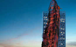 Tòa nhà kỳ dị hình con tàu đắm bị chỉ trích là 'xúc phạm người nhìn'
