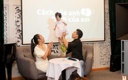 Quốc Nghiệp trình diễn với con gái 9 tháng tuổi ngay tại sự kiện