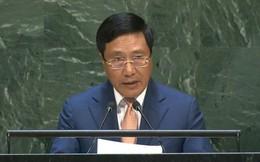 Phó Thủ tướng Phạm Bình Minh đưa vấn đề Biển Đông ra Đại hội đồng Liên Hợp Quốc