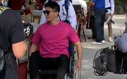 Xót xa với hình ảnh người tình cũ của Phạm Băng Băng - Lý Thần phải ngồi xe lăn